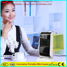 solar powered portable heater fan room heater 230W electric heater
