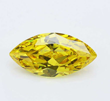 High Quality Gem Stone/Marquise Cut Yellow Cubic Zirconia/Loose CZ Cubic Zirconia Gem Stone