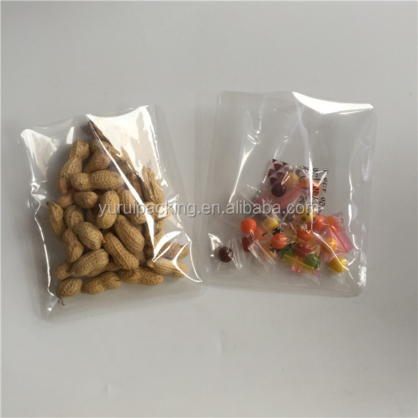 2016 new three side sealed food grade plastic bags for spices/sea food/fish/meat spice bag