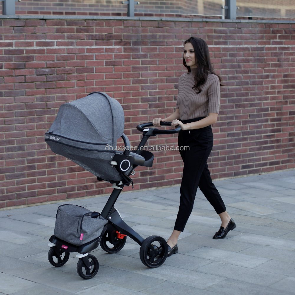 DOUX BEBE EN1888 approved baby stroller 3 in 1/baby carriage / baby pram