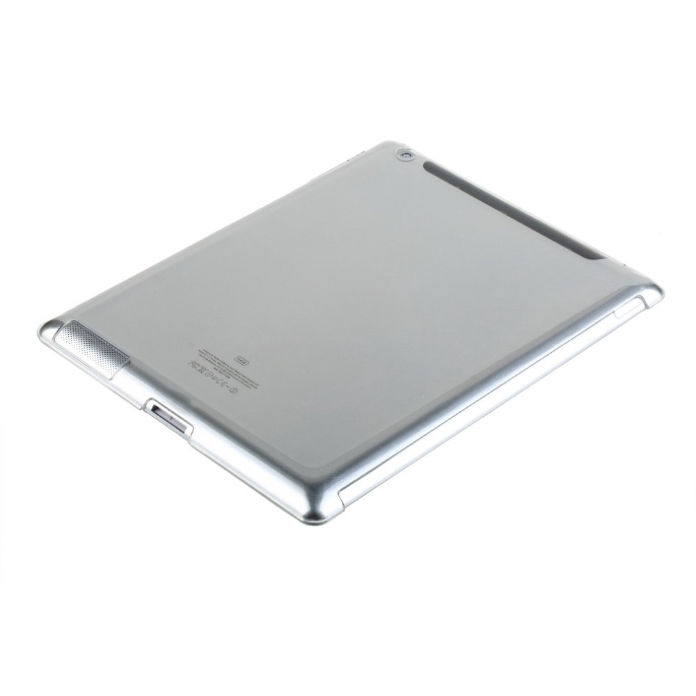 Stylish Clear Transparent PC Hard Back Protective Case Cover For <strong>iPad</strong> 2 3 4