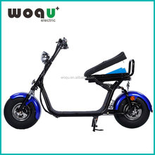 New Design Removeable Battery WOQU coco city scooter electric motorcycle