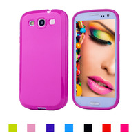 Candy Gel Silicone Case Soft TPU Plastic Cover for Samsung Galaxy S3 SIII I9300 S3 Duos i9300i / S3 Neo i9301 Phone Cases