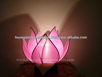 Lotus lantaarn, illuminating decoratie artikel, bekwame craft