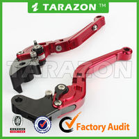 High quality CNC aluminum adjustable folding and extendable brake culutch lever for motorbike TUONO V4R