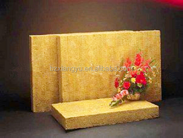 Fire proof /water proof rock wool thermal insulation construction material