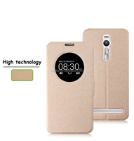 Hot selling products pu leather flip smartphone case for asus zenphone 4