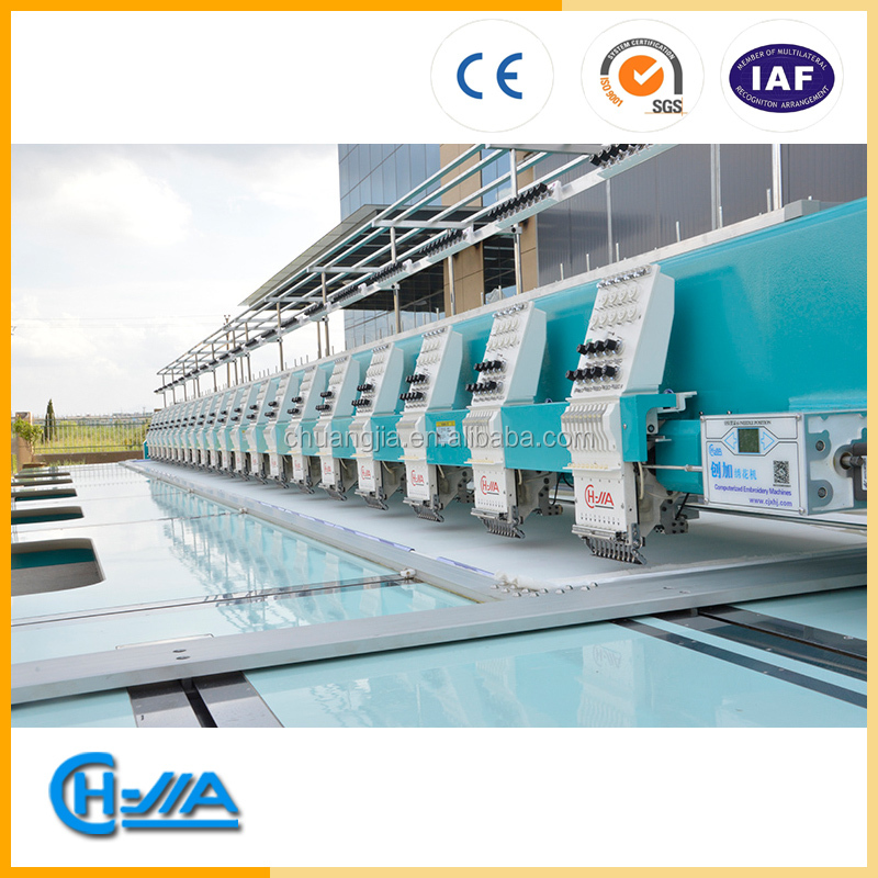 CH-JIA high speed embroidery machine GT925 with automatic oiling
