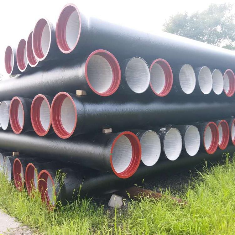 Mortar Cement Lining ISO2531 k9 pipes ductile iron pipe manufacturers