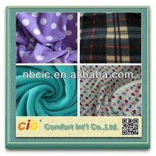 New Style Polyester Christmas Print Fleece Fabric