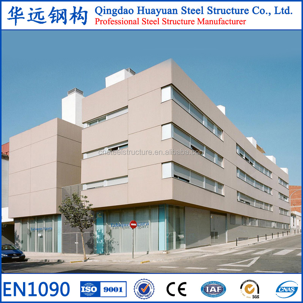 China quality prefabricated light structural steel office building for sale