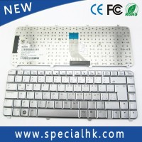 Silver Color computer Keyboard for HP Pavilion DV5 DV5-1000 Layout LA