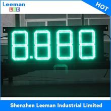 low voltage oil display wholesaler 7 segment price signs program led bus message sign board