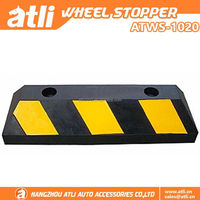 Hot sales Car Rubber Stopper,Wheel Parking Stopper ,wholesale wheel locator