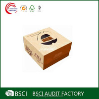 Custom Logo printed different size cake paper box