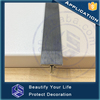 Floor flexible transition strips for protective floor
