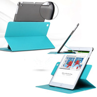 360 degree totate slim leather for ipad air rotating case