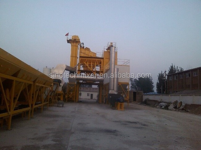 Cold Aggregate Supply System asphanlt mixing plant/asphalt paving contractor