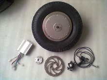electric wheelbarrow hub motor kit with brake