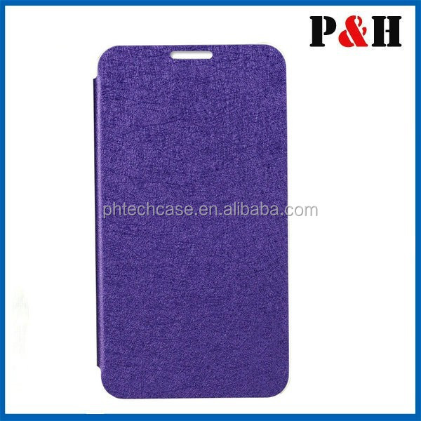 book style PU leather phone case for Samsung Galaxy S5