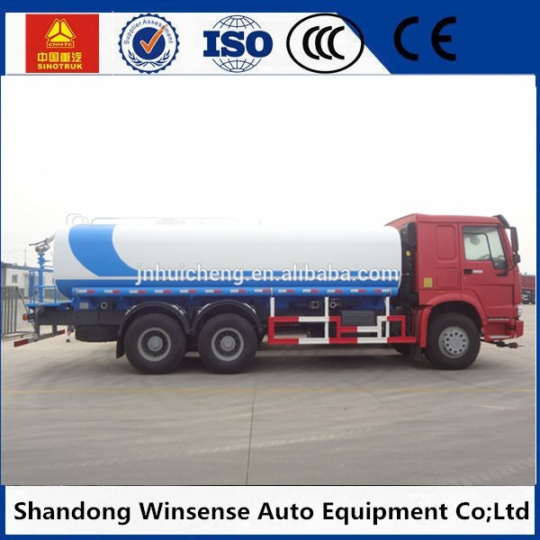 6x4 tanker water spray truck for sale