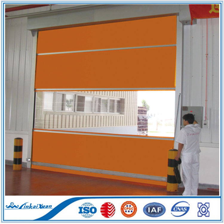 Automatic Textile used fast roller shutter door | High Speed Rubber Door
