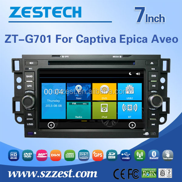 car dvd gps navigation for Chevrolet Captiva Epica Aveo car dvd multimedia player with radio TV 3G BT car gps navigation system