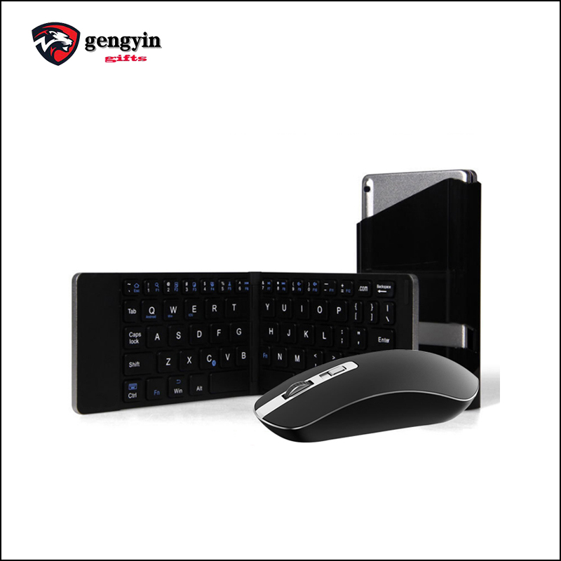 Ultrathin wireless flexible foldable keyboard cordless gaming mouse