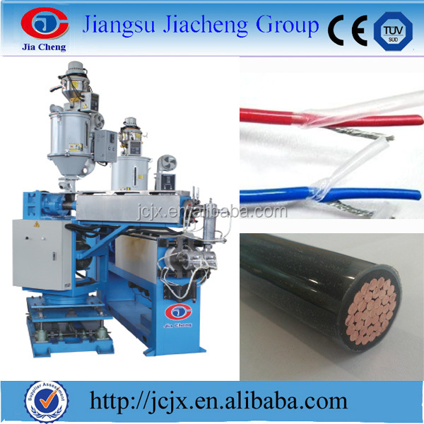 Wire Making Machine Process/silicon Rubber Cable Extrusion Production Line