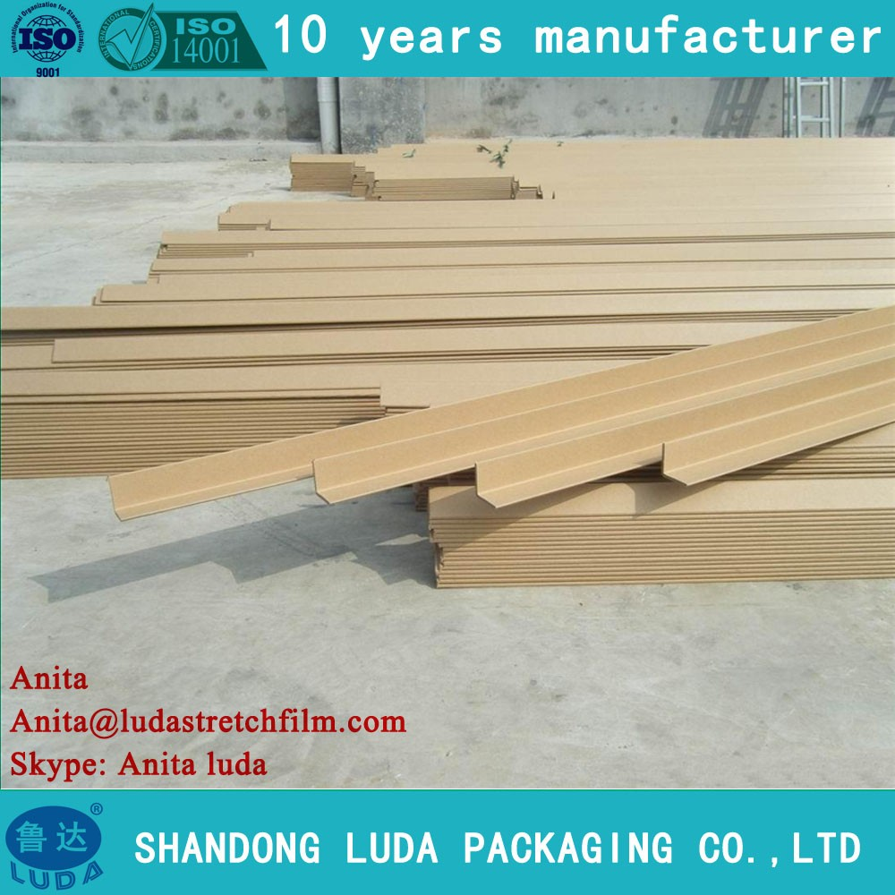 Shandong Luda 60*60*6mm L-type Cardboard Box Inside