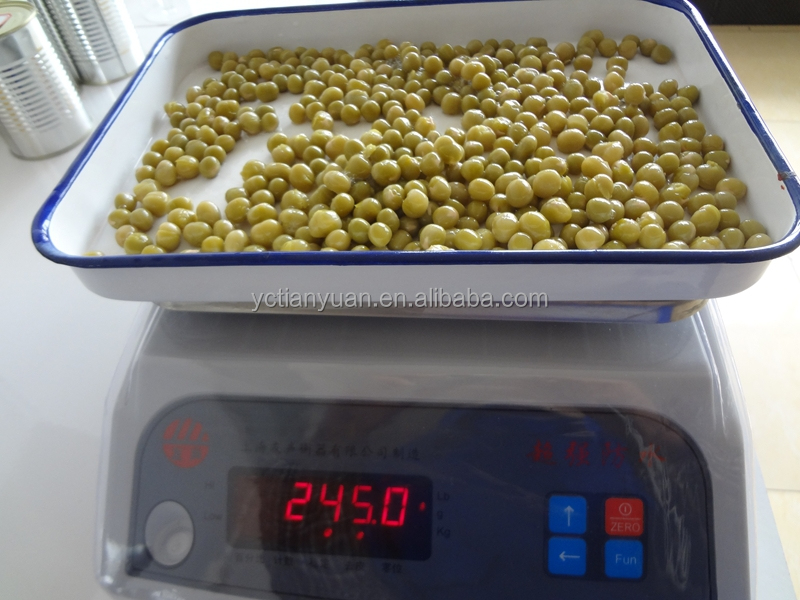 Canned green peas all canned food for your request