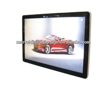 55 inch ultra slim wall mounted auto cycle play video for advertising lcd display