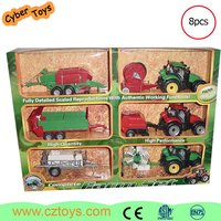 CYBER TOYS ABS dump farm plastic truck with music