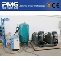 Automatic small plastic bottle blow molding machine