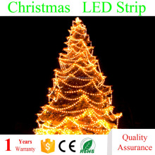 Best Price Waterproof IP65 High Voltage 110 v 220 volt 3014 2835 5630 5050 LED strip light for Christmas