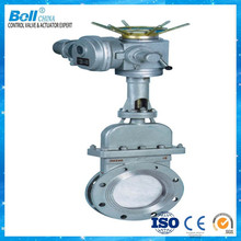 Water flow control gate valve