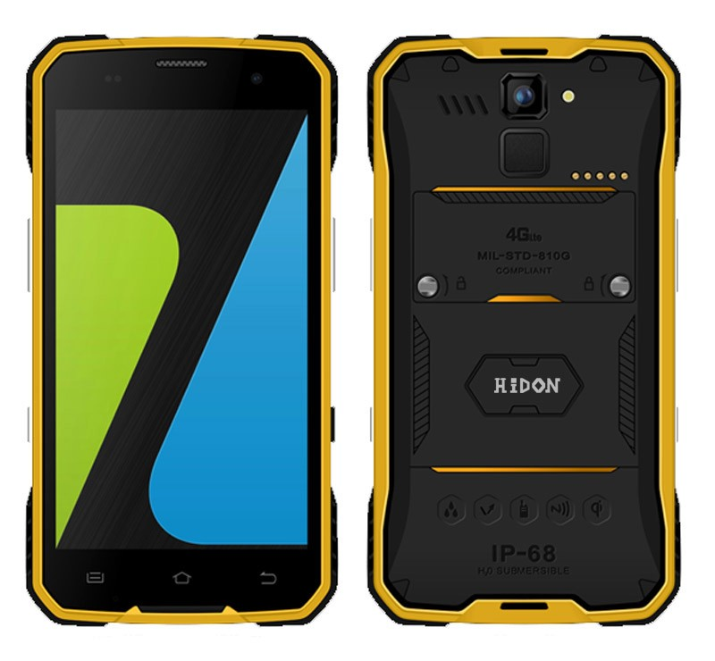 Cheapest 4G LTE Android 5.1 IP68 Rugged Mobile Hardware Solutions Phones