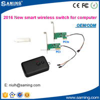 20 meters distance Wireless remote power and reset switch for desktop computer OEM