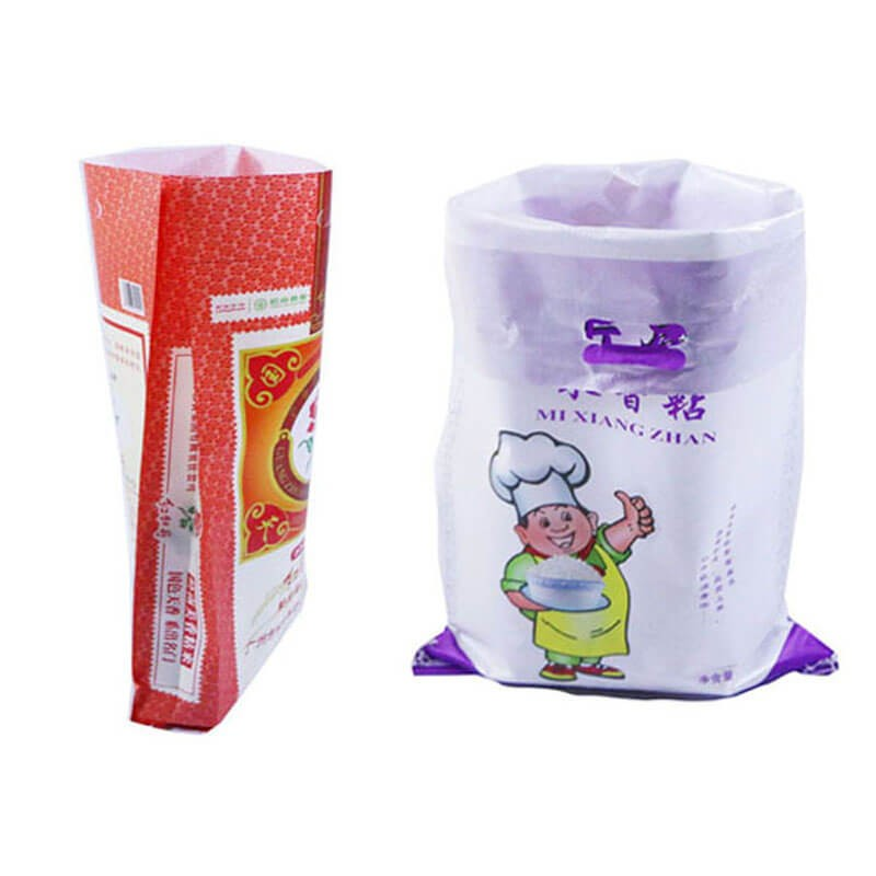 Customized Plastic PP Woven Bag Sacks For Chicken Feed , Poultry Feed bag