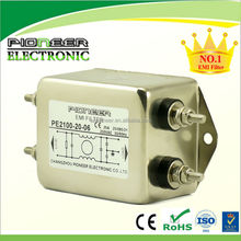 electronics 6-100A PE2100-20-06 Control cabinet use single phase electromagnetic choke filter