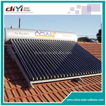 diamater 12mm with thickness 0.8mm copper coil preheated integrative solar water heater