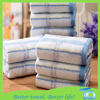 2015 Personalized yarn dyed 100% Face Cotton Towel for adults