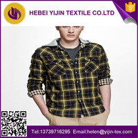 various cheap polyester cotton yarn dyed shirt fabric