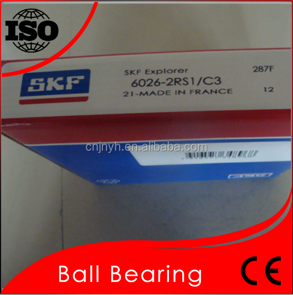 Long Using Life Bearing 6026 Quick Delivery SKF 6026 Deep Groove Ball Bearing
