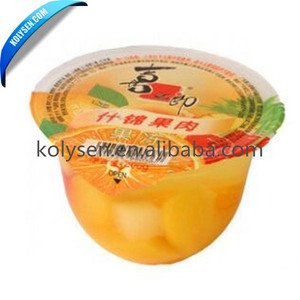 Plastic Cup/Bottle Aluminum Foil Peelable Lidding Film Lid Sealing Film
