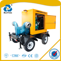 Farming Irrigation Centrifugal Water Pump Powered By Diesel Engine