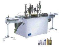 Factory price fully automatic metal bottle orange flavor air freshener filling machine
