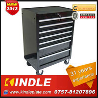 Kindle Custom Heavy Duty Steel Portable Tool Box with Wheels and Ball Bearing Slides.31 Years Experience from Guangdong