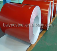 Superior quality PPGL or PPGI colour coated corrugated steel sheets in coil