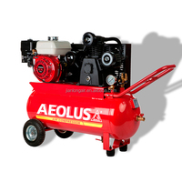 mobile oil less gasoline air compressor with GX engine
